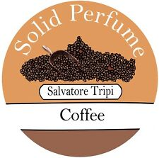 Coffee Solid Perfume Natural Salvatore Tripi 10g Alcohol Free Handmade Scent UK
