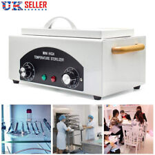 Dry Heat Towel Sterilizer Disinfection Dental Nail Tool Utensils Beauty Salon UK