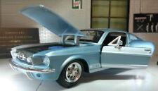 Coche de automodelismo y aeromodelismo color principal azul de hierro fundido