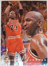 1995-96 Flair #15 Michael Jordan, Premium Foil MJ, Bulls, HOF, Sharp!