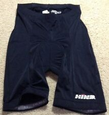 Men's Hind Padded Compression Cycling Bike Shorts Sz Small Black ZH