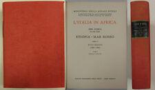 Giglio ETIOPIA MAR ROSSO Italia Africa 1966