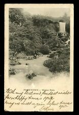 Sierra Leone FREETOWN Waterfalls 1902 u/b PPC faults