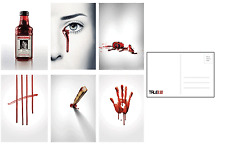 True Blood 6pcs Post Card Water Proof Gloss Photo Paper High Quality Print