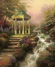 Sweetheart Gazebo by Thomas Kinkade SN Limited Edition 16 X 20