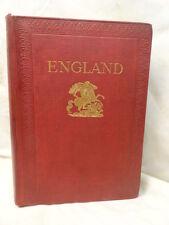 Vintage England English History Book Frank Fox London 1914 in Color