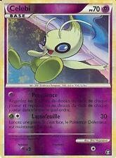 "Carte Pokemon "" CELEBI "" Niveau BASE TRIOMPHE PV 70 3/102 HOLO REVERSE"