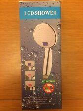 LED indicador de temperatura digital | auricular de la ducha | No se requieren baterías | TDSH