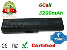 Laptop Battery for TOSHIBA Satellite Pro 3000 L510 L600 L630 L640 C650D C660D