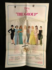 The Group 1966 One Sheet Movie Poster Sexploitation Candice Bergen