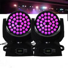 2 Packs 36x10W 4 In 1 Rgbw Led Zoom Wash Moving Head Party Dj Stage Light Dmx512