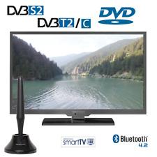 Alphatronics SL-24 DSBI+ sp Smart LED TV 60cm, Triple Tuner, DVD Player 12/230V