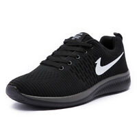 Men's Casual Walking Shoes Zoom Jogging Outdoor Running Sports Athletic Sneakers