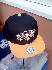 Pittsburg Penguins, Mitchell & Ness Snapback Vintage Hockey Snapback Cap