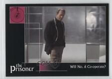 2002 Cards Inc The Prisoner Autograph Series #13 Will No 6 Co-Operate? Card 0f8