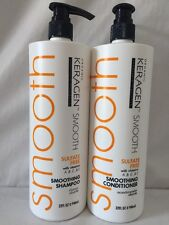 Organic Keragen Smoothing Shampoo And Conditioner 32 oz - Duo