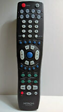 Hitachi CLU-572TSI TV Remote Control 61SDX01B 61SWX01B 53SDX01B 53SWX01B 43FDX01