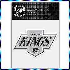 "Los Angeles Kings NHL Die Cut Vinyl Sticker Car Bumper Window 2.7""x4"""