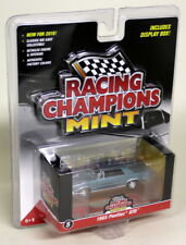Racing Champions Mint 1/64 Scale 1965 Pontiac GTO Light Blue Diecast model car