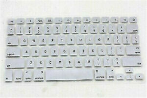 """For Apple Macbook Air 11"""" A1370/A1465 Models Silicone Keyboard Skin Cover Film"""