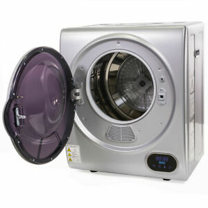 New Portable Automatic Digital Electric Dryer Laundry Clothes Machine Dry with