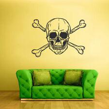 Wall Decal Vinyl Sticker Decor Art Bedroom Bones Flibuster Pirate Skull Z2106