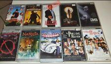 Lot De 10 Films UMD Vidéo Pour Sony PSP