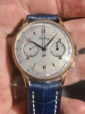 Vintage Breitling Chronograph Cadette Swiss Venus Cal 188 Manual Wind Circa 1955