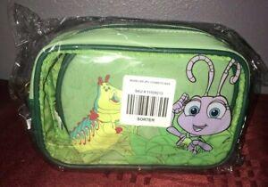 Disney Loungefly Pixar Bugs Life Cosmetic Makeup Bags Heimlich & Dot