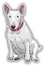 Bull Terrier Dog Car Bumper Sticker Decal 3'' x 5''