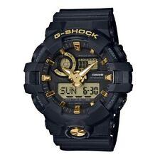 Casio G-Shock Analog-Digital Black x Gold Accents Watch GA710B-1A9DR