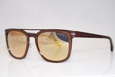 EMPORIO ARMANI Immaculte Mens Designer Brown Sunglasses EA 2030 3103 4Z 13330