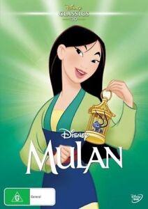 Mulan (DVD, 2016) Disney Classics 30 - new, sealed