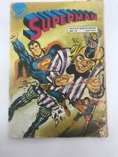 SUPERMAN #14 - Foreign Comic Book - 1980s 80s - DC - MEGA RARE - 3.5 VG-