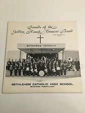 Bethlehem Catholic High School Golden Hawk Concert Band Vinyl LP Record Album PA