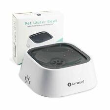 LumoLeaf Dog Water Bowl, Splash-Free Pet Slow Water Feeder Bowl, No Spill Dog...