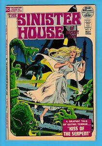 The SINISTER HOUSE of SECRET LOVE # 4 FN (6.0) DC HORROR - CENTS - 52 PGS - 1972