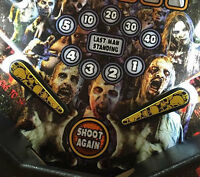 Pile of Skulls - Pinball Machine Flipper Bat Topper MOD for TWD, POTC, KISS, etc