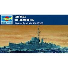 Trumpeter 05305 1/350 USS England DE-635 Battleship Plastic Assembly Model Kits