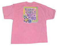 Women's Bama Girls Best In The World T-Shirt Girlie Girl Top Sizes XL, 2XL, 3XL