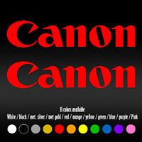 "7"" Canon Photography Laptop Diecut Bumper Car Window Vinyl Decal sticker"