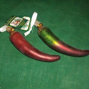 Old World Christmas Ornament Chili Pepper