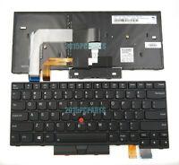 New Lenovo Thinkpad T470 20JM T470 20JN Keyboard US Backlit