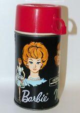 Barbie Midge & Skipper Vintage Metal 10 oz Thermos 1965 King-Seeley