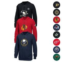 NHL Reebok Center Ice TNT Speedwick Team Logo Pullover Hoodie Collection Men's