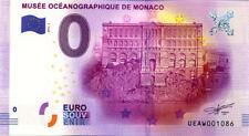 98 MONACO Musée océanographique, Façade, 2016, Billet 0 € Souvenir