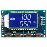 3.3V-30V LCD Signal Generator PWM Pulse Frequency Duty Cycle Adjustable Module