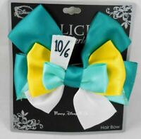 New Disney Alice In Wonderland  Mad Hatter 10/6 Cosplay Hair Bow Tie Pin Clip
