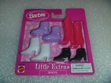 """Barbie Boots - MOC or Min in Package """" Little Extras """" """"BOOTS""""  New By Mattel"""