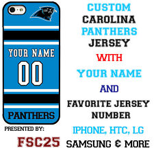 Carolina Panthers Phone Case Cover for iPhone X 8 PLUS iPhone 7 6 5 ipod 6 etc.
